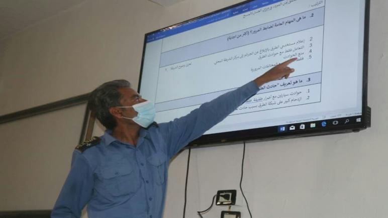 قواتنا تستكمل الدورات التدريبية بمفاهيم المرور في إقليم دير الزور