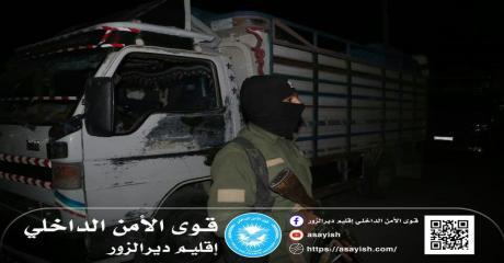 قواتنا تؤمن حماية مجموعة من العوائل أثناء عودتهم إلى منازلهم بإقليم دير الزور