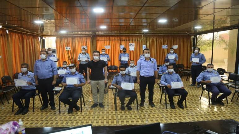 قواتنا في بوليس الترافيك تختتم دورة تدريبية جديدة من ممارسات الشرطة المجتمعية