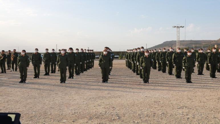 تخريج دورة جديدة خاصة بأعضاء قواتنا في إقليم الجزيرة في بلدة كوجرات يوم أمس الأربعاء 13 تشرين الأول/أكتوبر. .