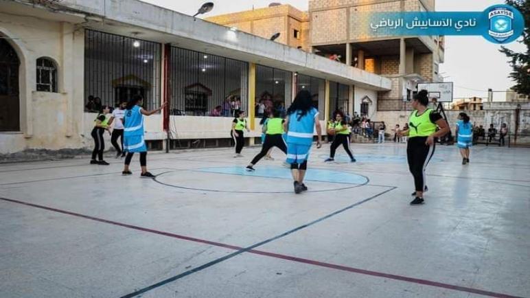 انتهى اللقاء الودي الذي جمع بين سيدات نادينا وسيدات الرافدين بفوز سيدات نادينا ب٤٧ نقطة مقابل ١٨ نقطة