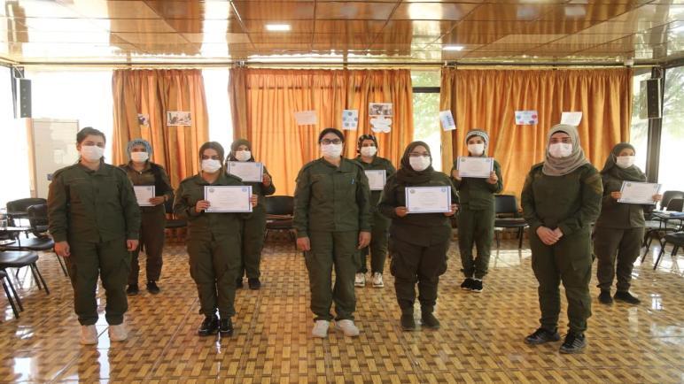 تخريج دورة خاصة بمفهوم الشرطة النسائية في إقليم الجزيرة.