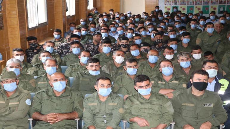 القيادة العامة تجتمع بأعضاء قواتنا في إقليم الجزيرة