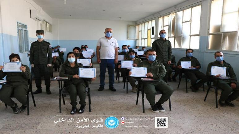 تخريج دورة لأعضاء قواتنا خاصة بمفاهيم الشرطة المجتمعية بإقليم الجزيرة